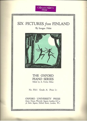 Picture of Six Pictures from Finland, Imogen Holst, piano solo songbook