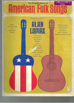 Picture of The Penguin Book of American Folk Songs, ed. Alan Lomax