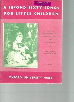 Picture of A Second Sixty Songs For Little Children, ed. W. Gillies Whittaker/Herbert Wiseman/John Wishart