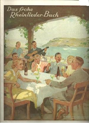 Picture of The Joy of the Rhein Songbook, Das frohe Rheinlieder Buch, songbook
