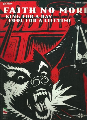 Picture of Faith No More, King for a Day Fool for a Lifetime, guitar TAB songbook