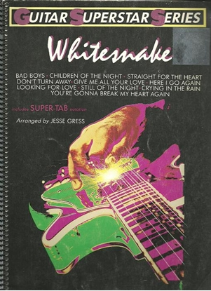 Picture of Whitesnake, Guitar Super-TAB songbook, arr. Jesse Gress