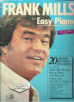 Picture of Frank Mills for Easy Piano(1983 Edition), 20 Award Winning Favorites