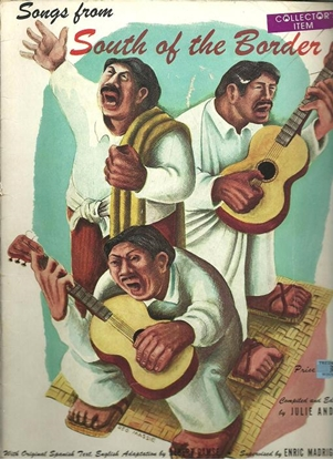 Picture of Songs from South of the Border, ed. Julie Andre, songbook