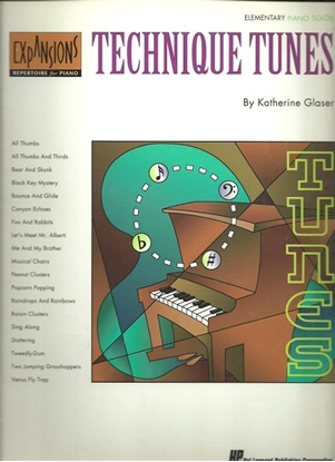 Picture of Technique Tunes, Katherine Glaser, Expansions Repertoire for Piano