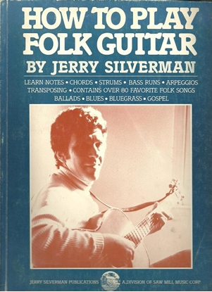 Picture of How to Play Folk Guitar, by Jerry Silverman