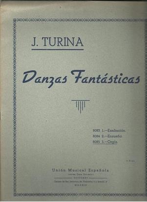 Picture of Joachin Turina, Orgia, #3 from Danzas Fantasticas, piano solo