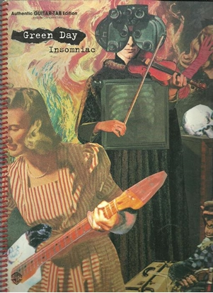 Picture of Green Day, Insomniac, TAB guitar songbook