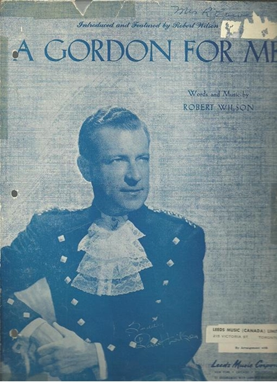 Picture of A Gordon for Me, Robert Wilson