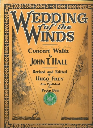 Picture of Wedding of the Winds, John T. Hall, piano solo