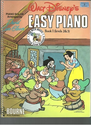 Picture of Walt Disney Easy Piano, Book 1 (Levels 2 & 3), arr. David Carr Glover
