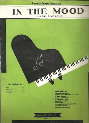 Picture of In the Mood, Joe Garland, arr. Robert C. Haring, piano solo