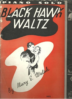 Picture of Black Hawk Waltz, Mary E. Walsh, piano solo