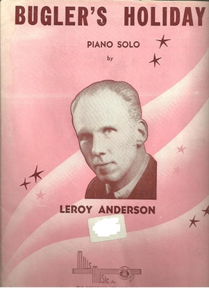 Picture of Bugler's Holiday, Leroy Anderson, piano solo
