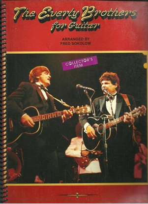 Picture of The Everly Brothers for Guitar, arr. Fred Sokolow, TAB songbook