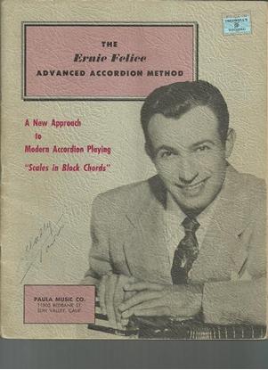 Picture of The Ernie Felice Advanced Accordion Method
