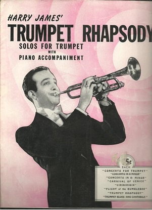 Picture of Trumpet Rhapsody, Harry James & Jack Matthias, trumpet & piano songbook