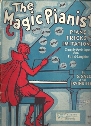 Picture of The Magic Pianist, S. Salg & Irving Bibo, piano solo sound effects