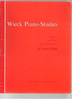 Picture of Wieck Piano Studies, Friedrich Wieck, ed. James Ching, piano solo songbook