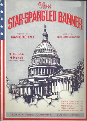 Picture of The Star-Spangled Banner, arr. Chester Wallis for piano duo