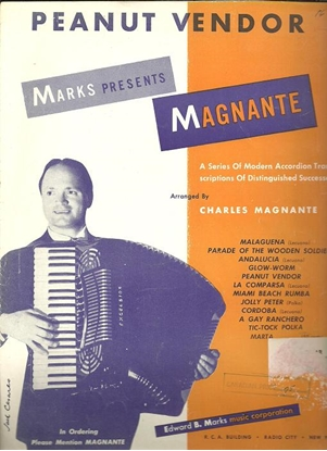 Picture of Peanut Vendor, El Manisero, Moises Simons, arr. Charles Magnante for accordion solo