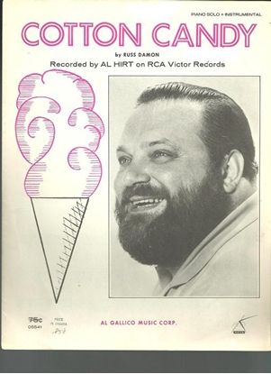 Picture of Cotton Candy, Russ Damon, recorded by Al Hirt, trumpet & piano