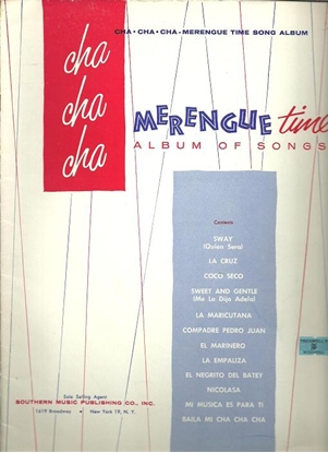 Picture of Cha Cha Cha Merengue Time Album of Songs