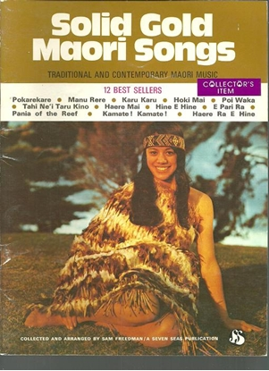 Picture of Solid Gold Maori Songs, songbook