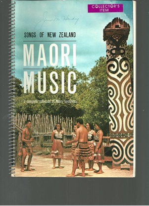 Picture of Songs of New Zealand, Maori Music, songbook