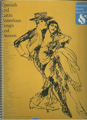 Picture of Everybody's Favorite Series No. 93, Spanish and Latin American Songs & Dances, EFS93, songbook