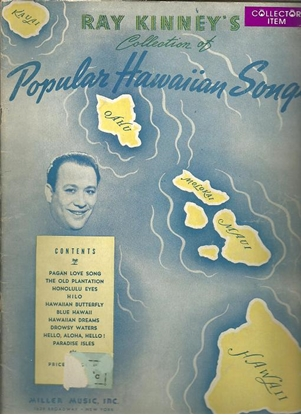 Picture of Ray Kinney, Popular Hawaiian Songs, songbook