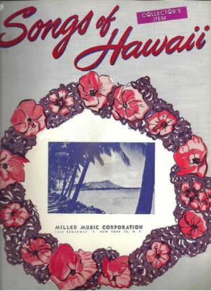 Picture of Songs of Hawaii, songbook