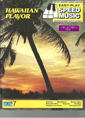 Picture of Hawaiian Flavor, Easy-Play Speed Music 27, songbook