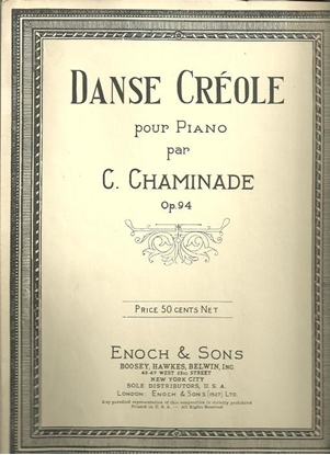 Picture of Danse Creole, Cecile Chaminade Op. 94, piano solo