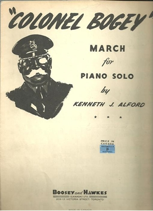 Picture of Colonel Bogey March, Kenneth J. Alford, piano solo