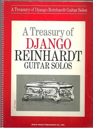 Picture of A Treasury of Django Reinhardt Guitar Solos