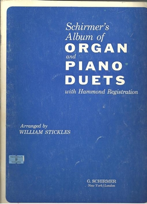Picture of Schirmer's Album of Organ and Piano Duets, ed. William Stickles