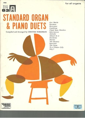 Picture of Standard Organ & Piano Duets, arr. Chester Nordman