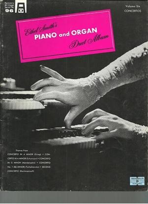 Picture of Ethel Smith's Piano and Organ Duet Album Vol. 6 Concertos