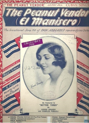 Picture of The Peanut Vendor, El manisero, Marion Sunshine/L. Wolfe Gilbert/Moises Simons