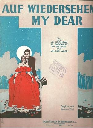 Picture of Auf Wiedersehen My Dear, Al Hoffman/ Al Goodhart/ Ed Nelson/ Milton Ager