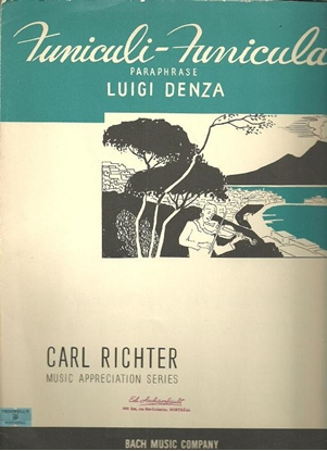 Picture of Funiculi-Funicula, Luigi Denza, piano solo paraphrase by Carl Richter