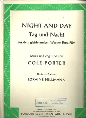 Picture of Tag und nacht, Night and Day, Cole Porter