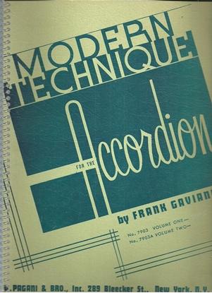 Picture of Modern Technique for the Accordion Book 1, Frank Gaviani