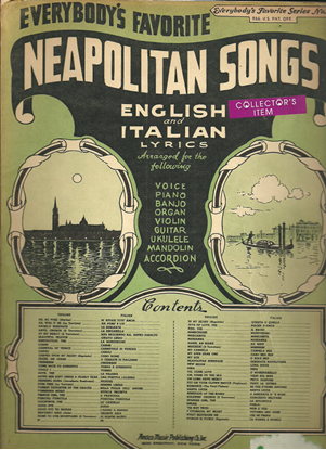 Picture of Everybody's Favorite Series No. 23, Neapolitan Songs, EFS23