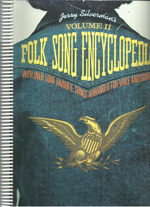 Picture of Folk Song Encyclopedia Vol. 2, Jerry Silverman, songbook