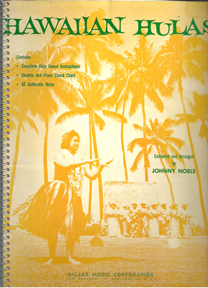 Picture of Hawaiian Hulas, arr.Johnny Noble, songbook