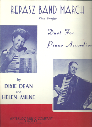 Picture of Repasz Band March, Chas C. Sweeley, arr. Dixie Dean & Helen Milne, accordion duet