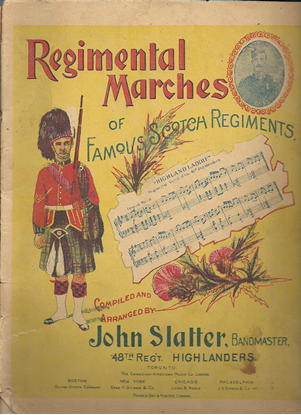 Picture of Regimental Marches of Famous Scotch Regiments, piano solo songbook