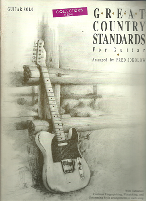 Picture of Great Country Standards for Guitar, arr. Fred Sokolow, TAB songbook